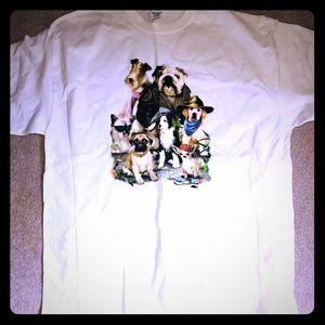 NWOT XL dog tee shirt